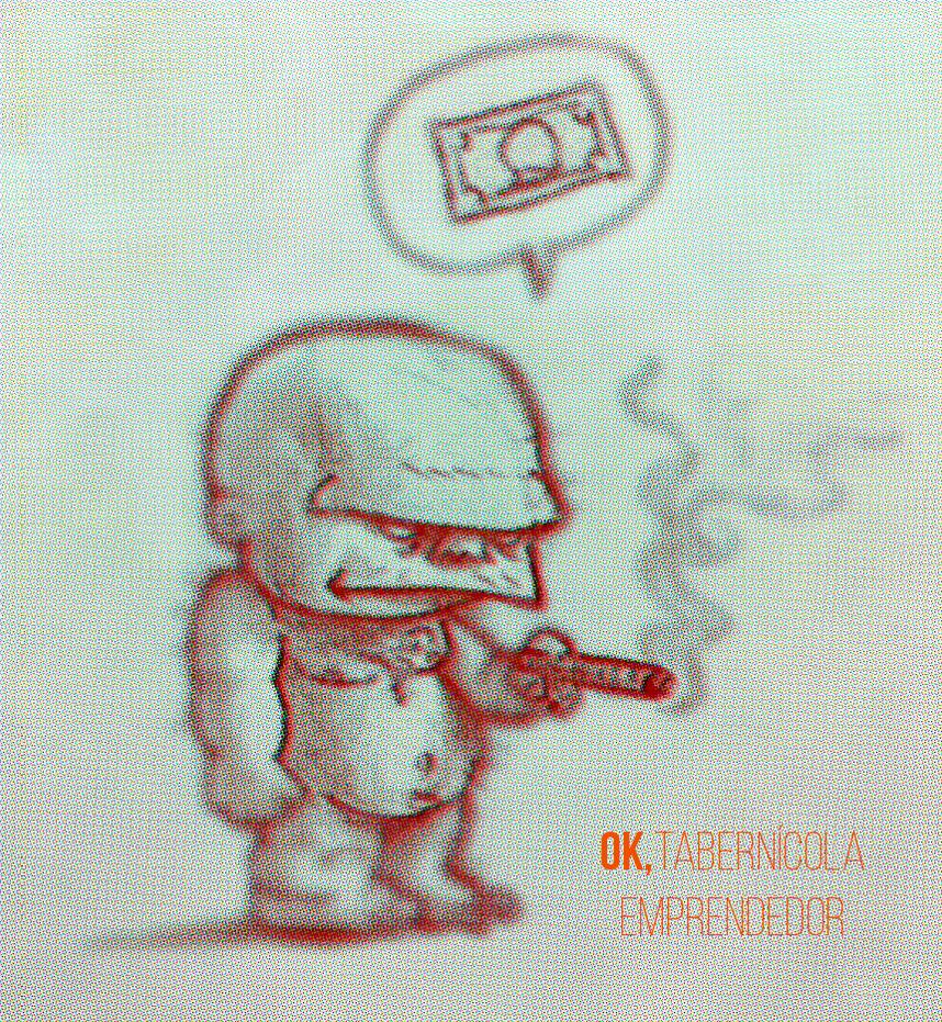 Ok (the enterprising tavernman) by facundoezequiel