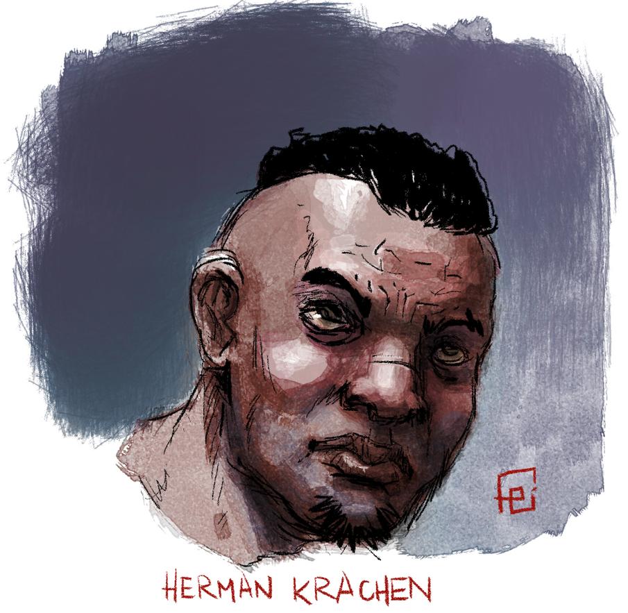 TR Herman Krachen sketch by facundoezequiel