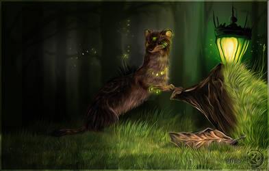 Forest Magic by wolfenwinter
