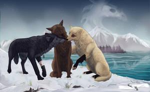 Heart In The Ice Land by wolfenwinter