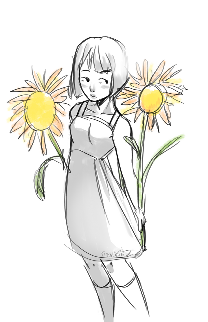 Sunflower by Fumichun