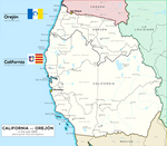 [Fictional] Republics of California and Orejon
