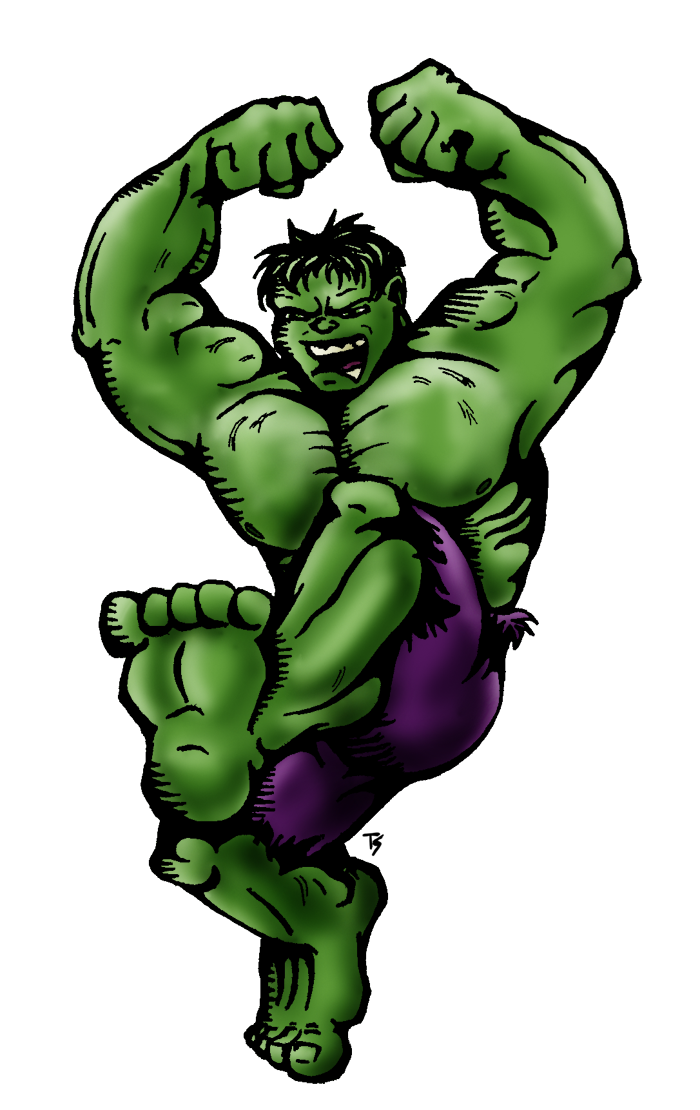 Hulk Smash by Tsebresos on DeviantArt
