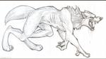 Werewolfy Sketch