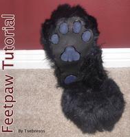 Fursuit Feetpaw Tutorial by Tsebresos