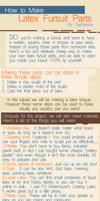 How to Make Latex Fursuit Parts: Tutorial by Tsebresos