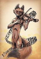 Music Fox by Tsebresos