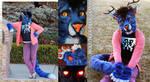 Wolf/Tiger/Deer Demon Partial Fursuit