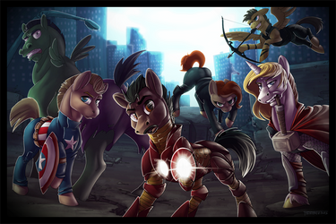 The Ponyvengers by Tsebresos