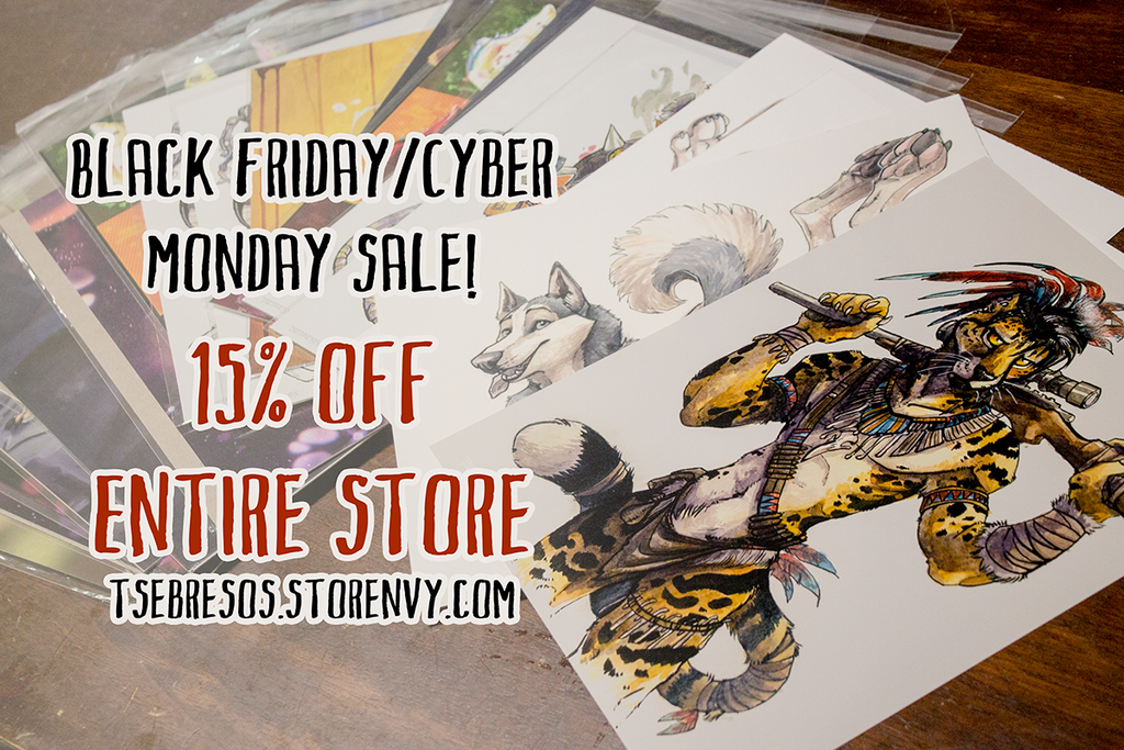 Art Prints Now Available! by Tsebresos