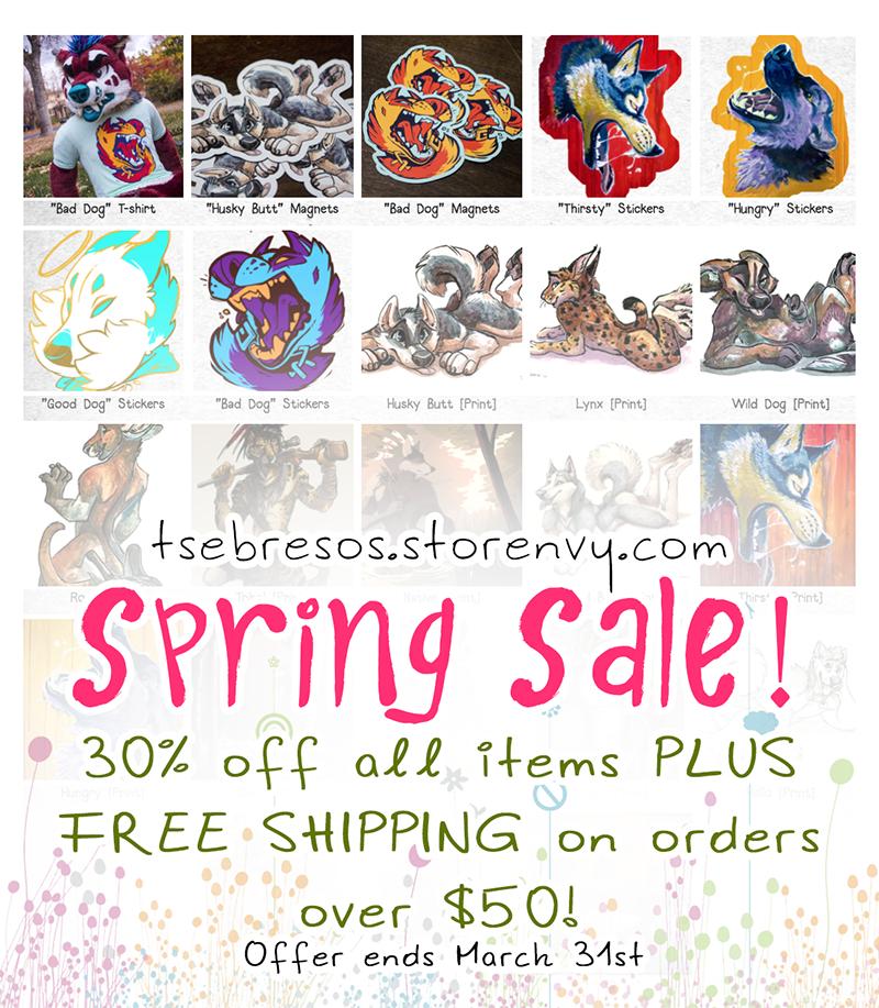 Spring Sale by Tsebresos