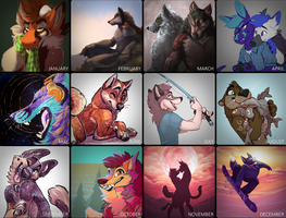 2018 Art Year Review
