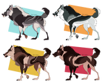 Canine Adopt Batch OPEN (4/4) by Nasty-Adopts