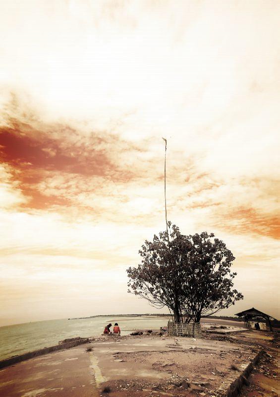 IR beach by tetchanizm
