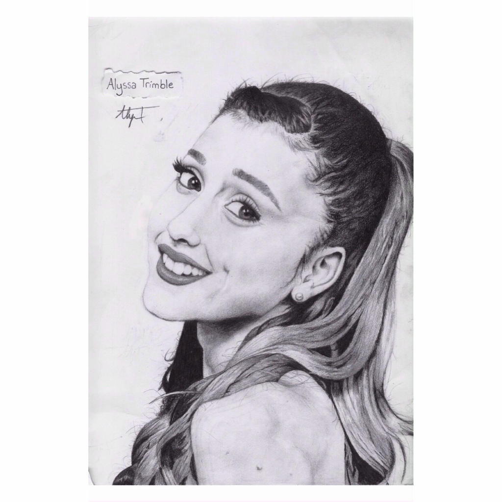 Ariana Grande - Pencil Drawing By Lyss504813 On DeviantArt