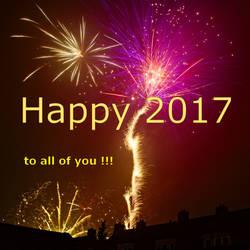Happy 2017 by janfoto