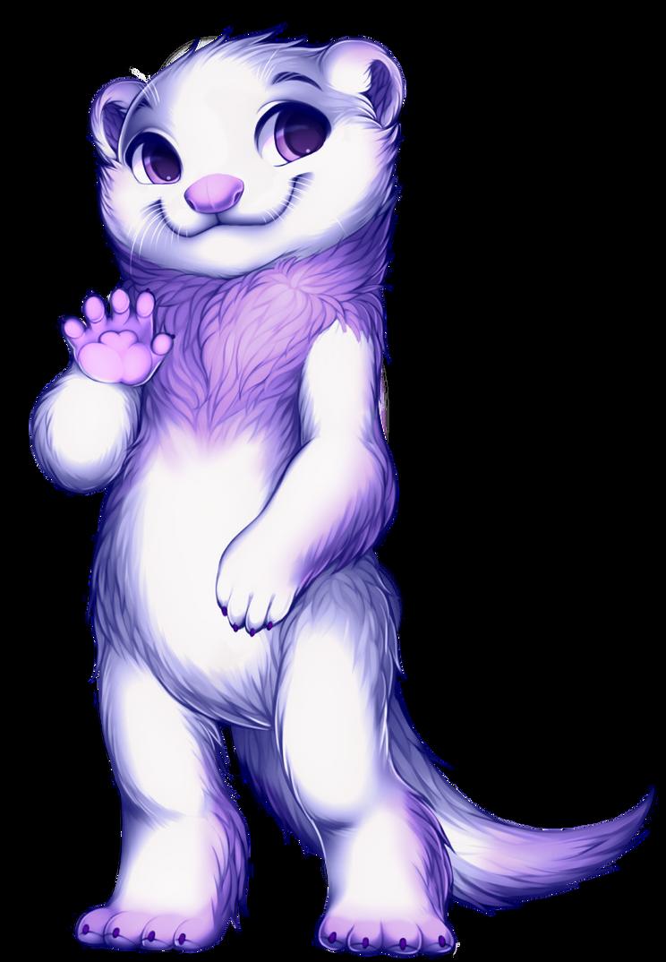 Ferret by WibbleyWobbleys