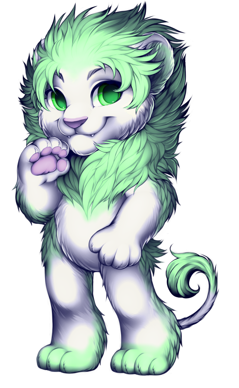 Lion by WibbleyWobbleys
