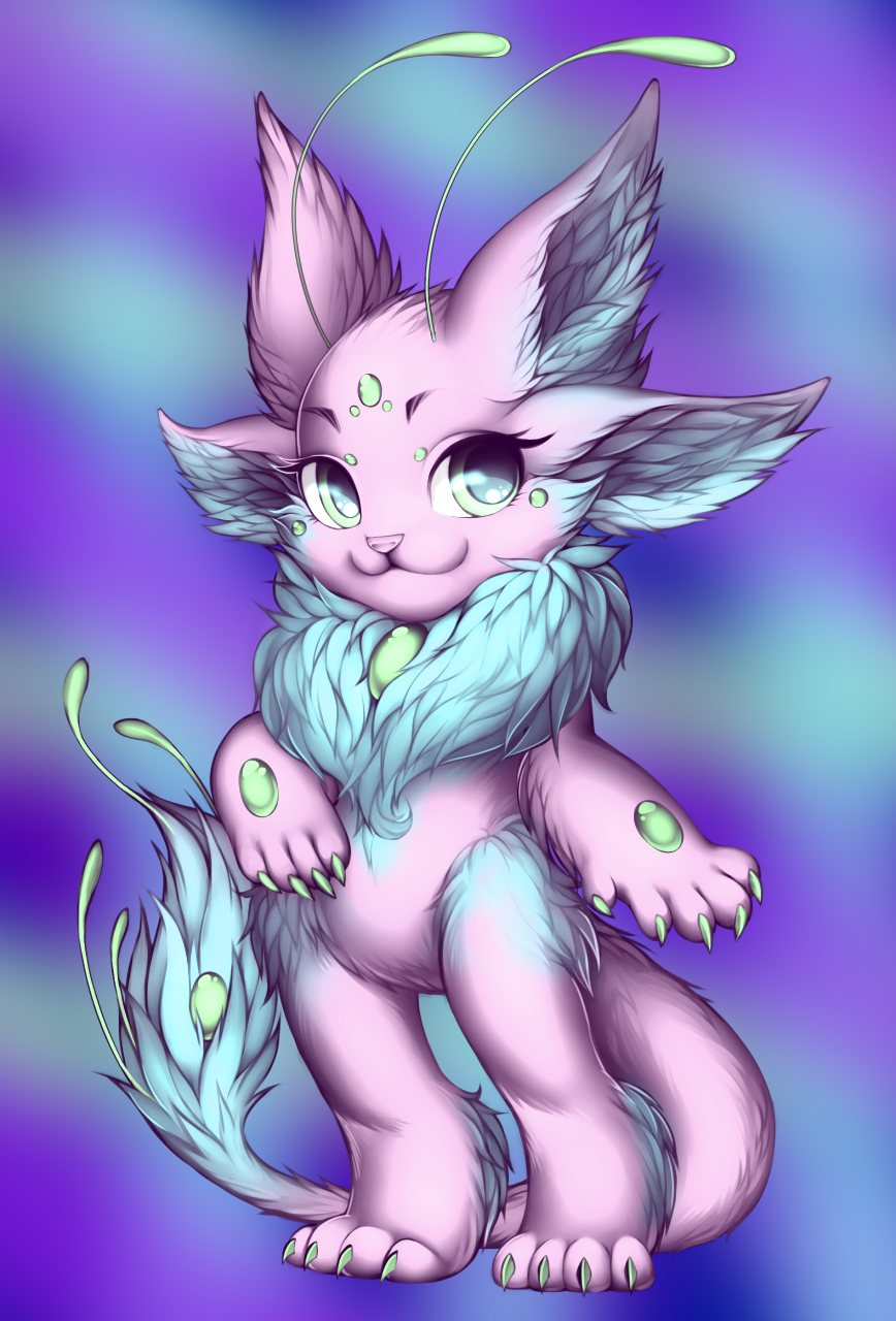 Gembound Pink by WibbleyWobbleys