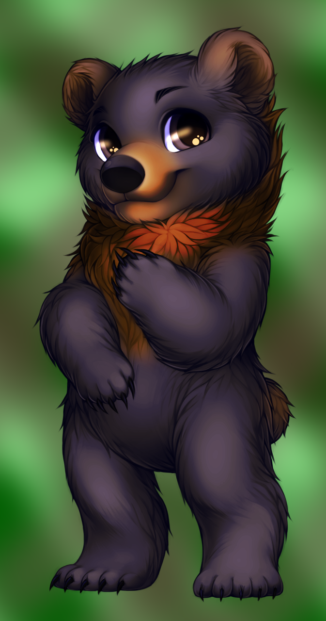 Beary Bearington by WibbleyWobbleys