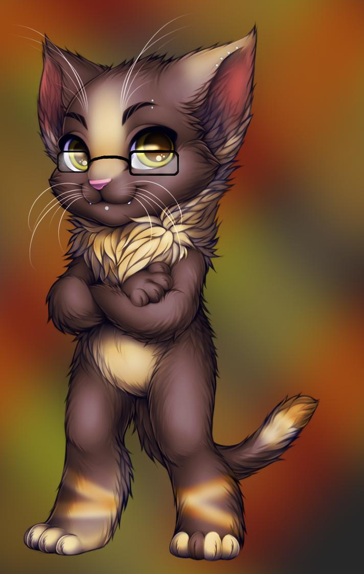 Smart Kitty by WibbleyWobbleys
