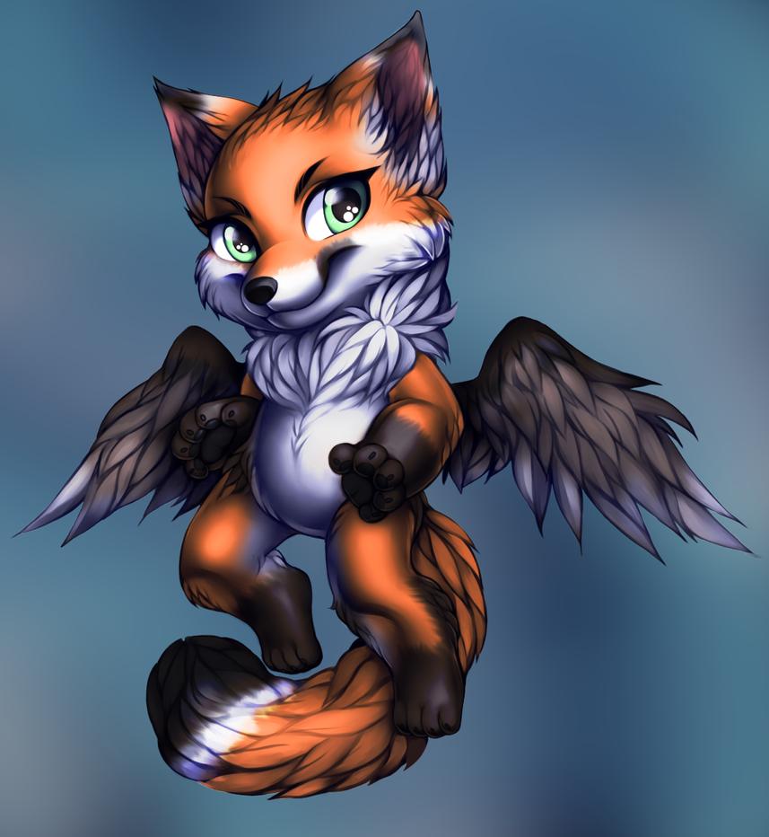 Foxy by WibbleyWobbleys