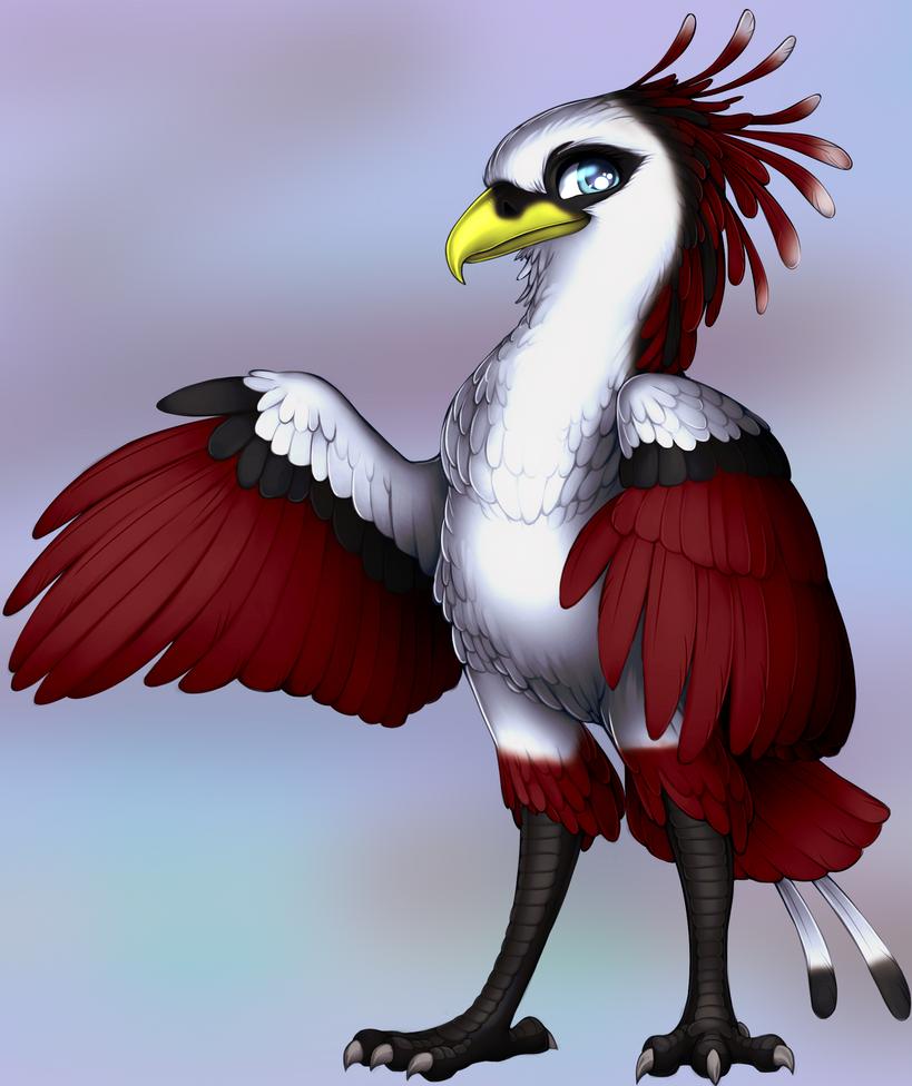 Raptor Secretary  by WibbleyWobbleys