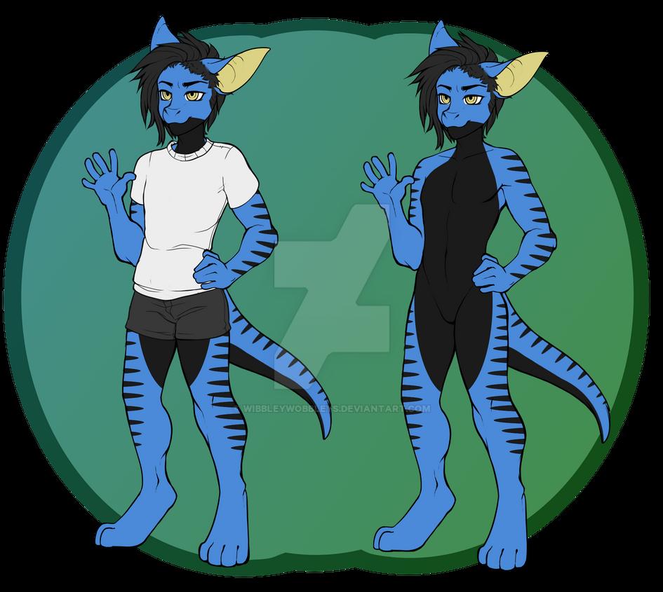 Dragon Couple Adopt M by WibbleyWobbleys