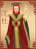 Human Shendu by spellboundsprite