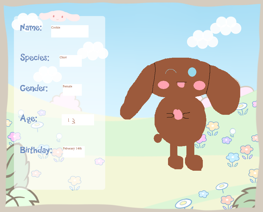 Sky Explorers Application: Cookie by The-Sanrio-fanboy