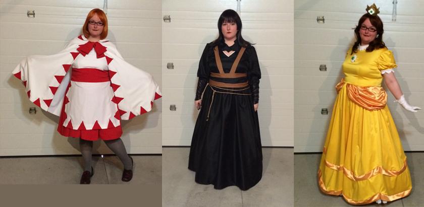 Anime North 2016 costumes by Rizu-Zeto