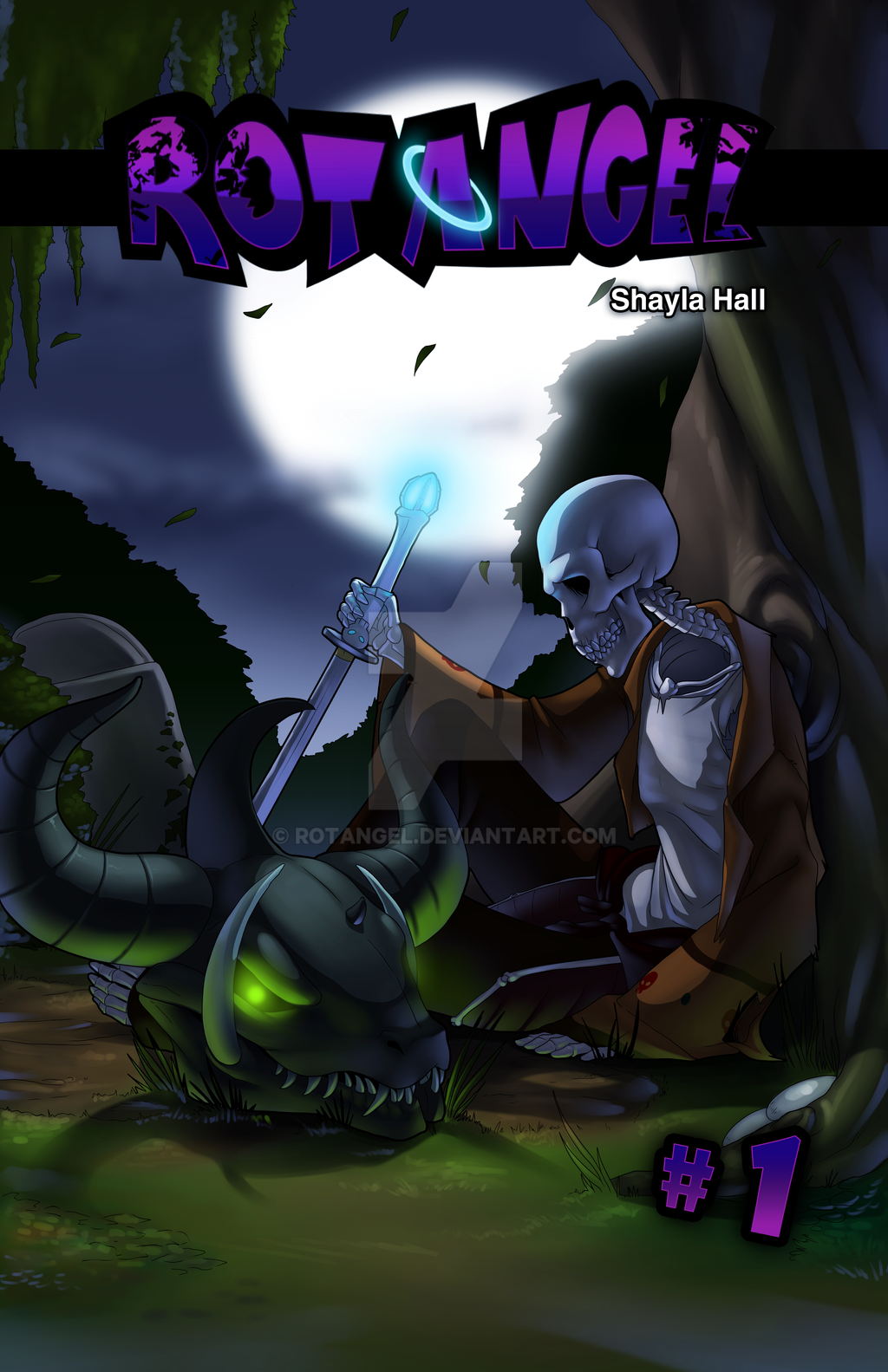 Chapter 1 Cover by RotAngel