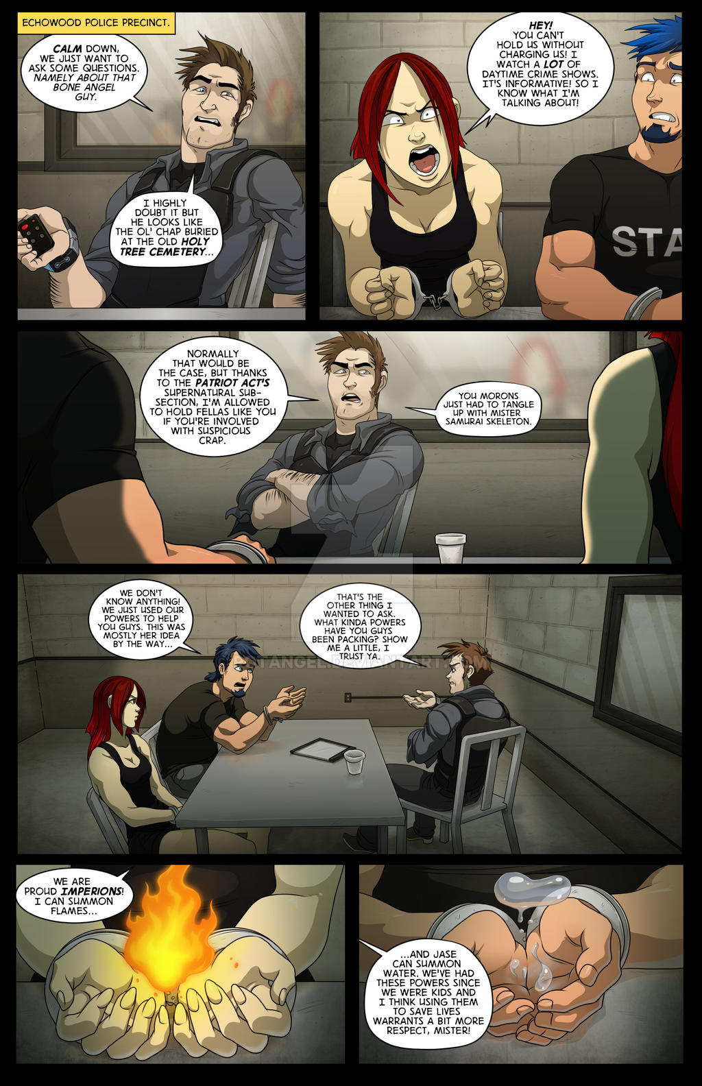 Issue #2 pg. 21 by RotAngel