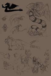 RA Sketch Dump 1