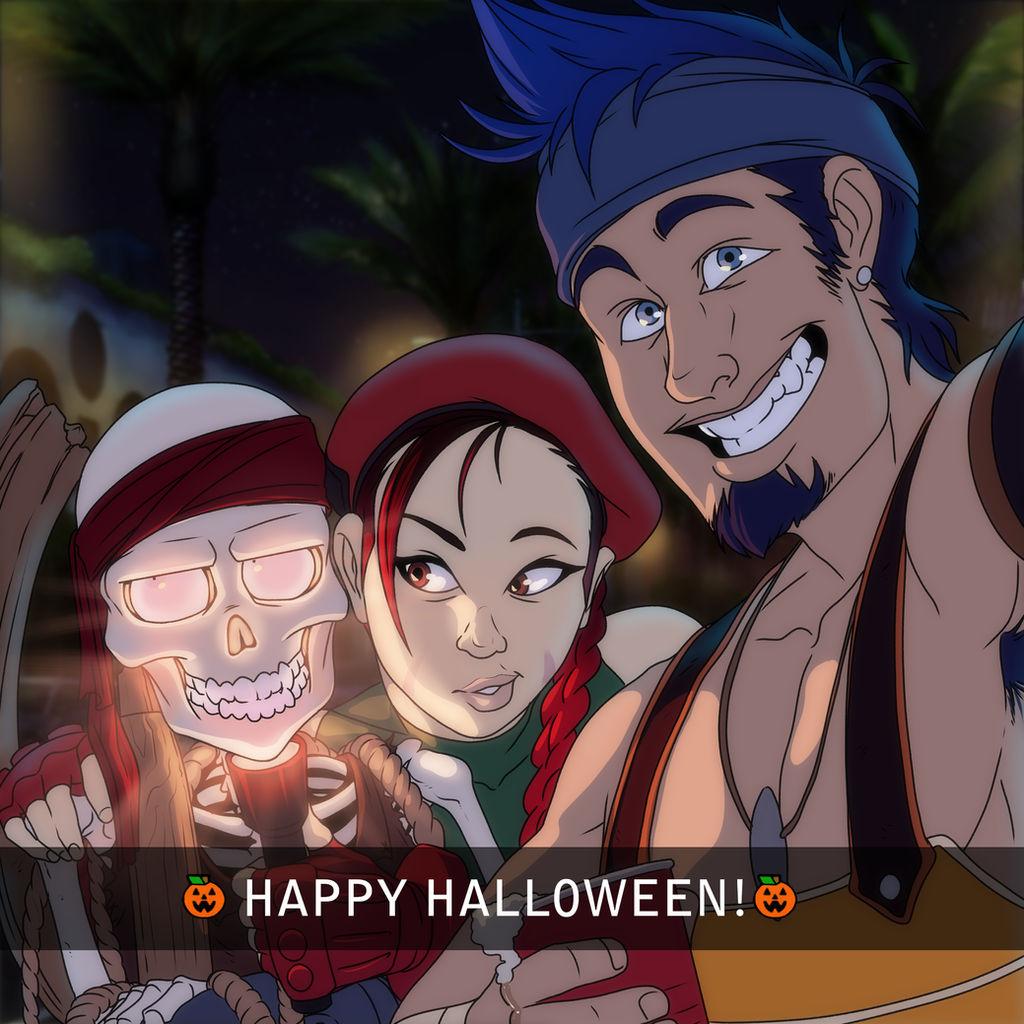 Instagram Happy Halloween by RotAngel