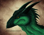 Forest Drake Head