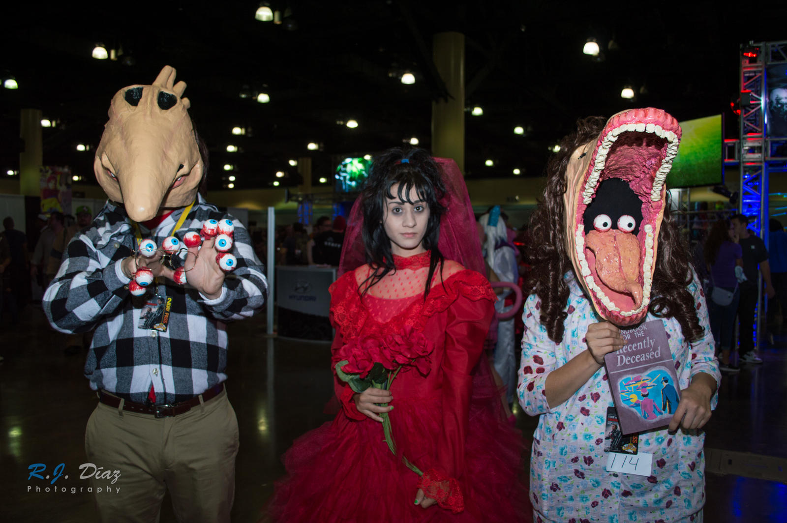 beetlejuice adam lydia and barbara prcc 2014 by