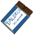 Dalokohs Chocolate Bar Icon Blu