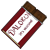 Dalokohs Chocolate Bar Icon Red