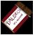 Dalokohs Chocolate Bar Icon Red