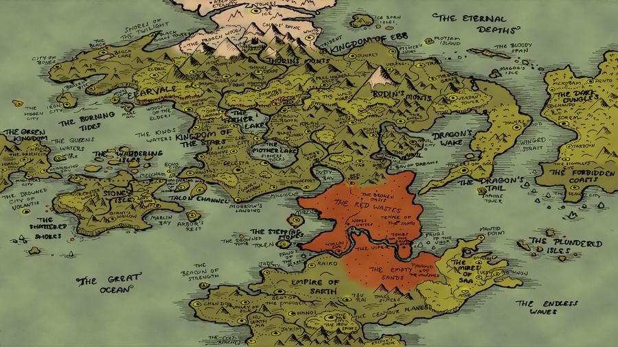 Fantasy Map - Fantasy Map By Cdnexus Ncbi
