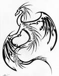 -new- tribal dragon