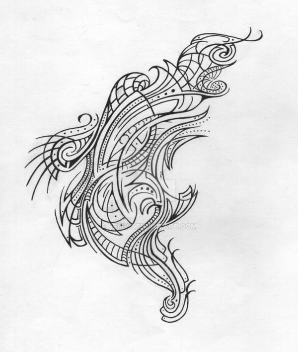 Abstract Line Drawing Artists : Abstract line art n by reijy on deviantart