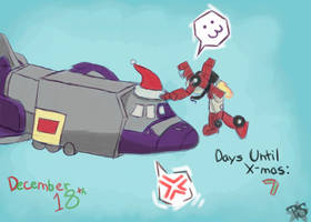 Advent Mischief - 7 Days to Go by SSJMihoshi