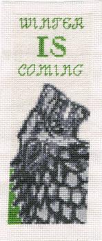 Bookmark #5 - GOT Stark direwolf