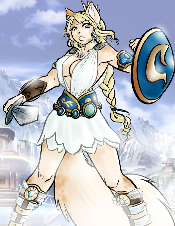 Lily as Sophitia SC4 by Zirconia
