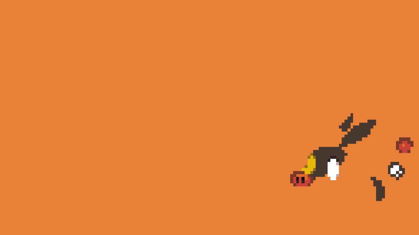 Tepig - Sprite Wallpaper by