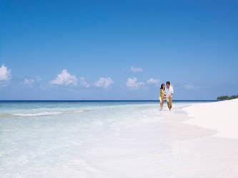Beach Couple 1 by sharadhaksar