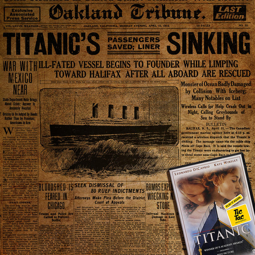 Titanic by sharadhaksar