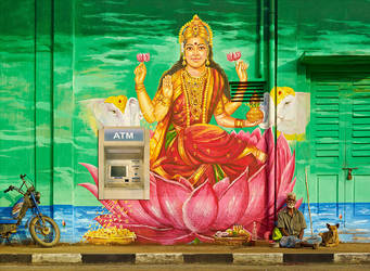 Divine Irony - Lakshmi